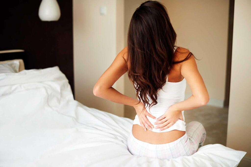 waking up with a back pain